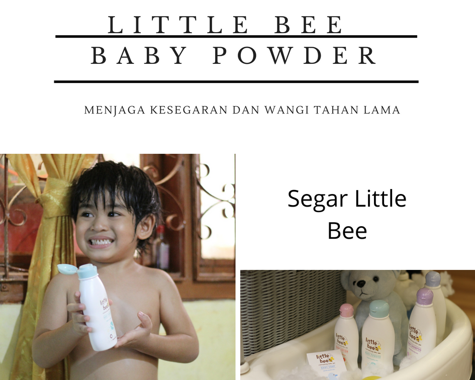 baby spa little bee baby powder