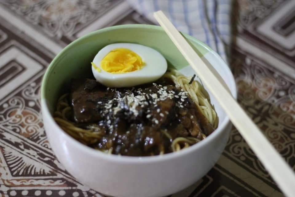 michiyo ramen beef teriyaki khas jepang