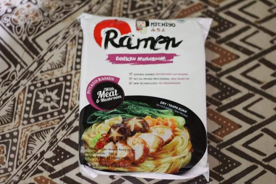 michiyo ramen chicken mushroom