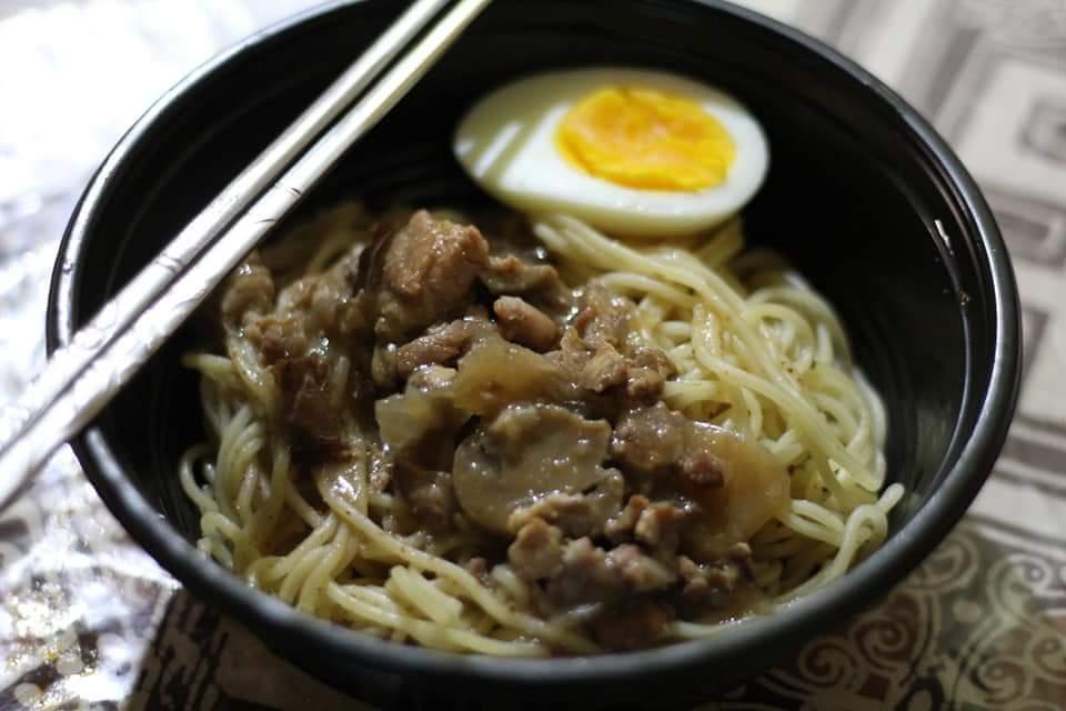 michiyo ramen chicken mushroon khas jepang