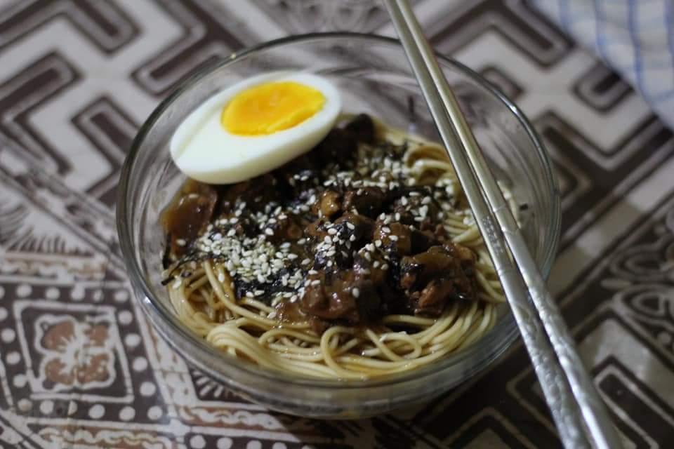 michiyo ramen chicken teriyaki khas jepang