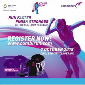 informasi combi run 2018