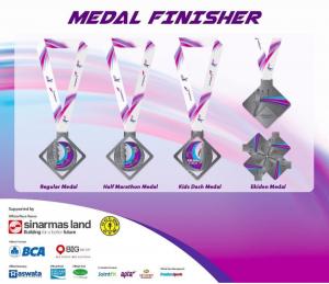 medali combi run 2018