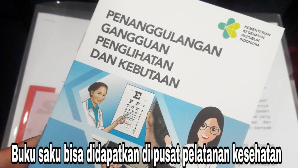 buku saku bahaya gangguan penglihatan