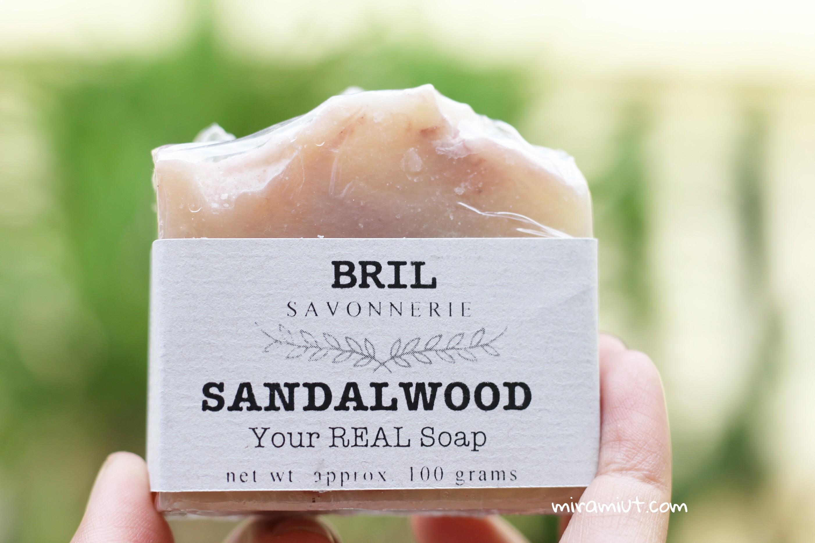 bahan alami sandalwood bril savonnerie