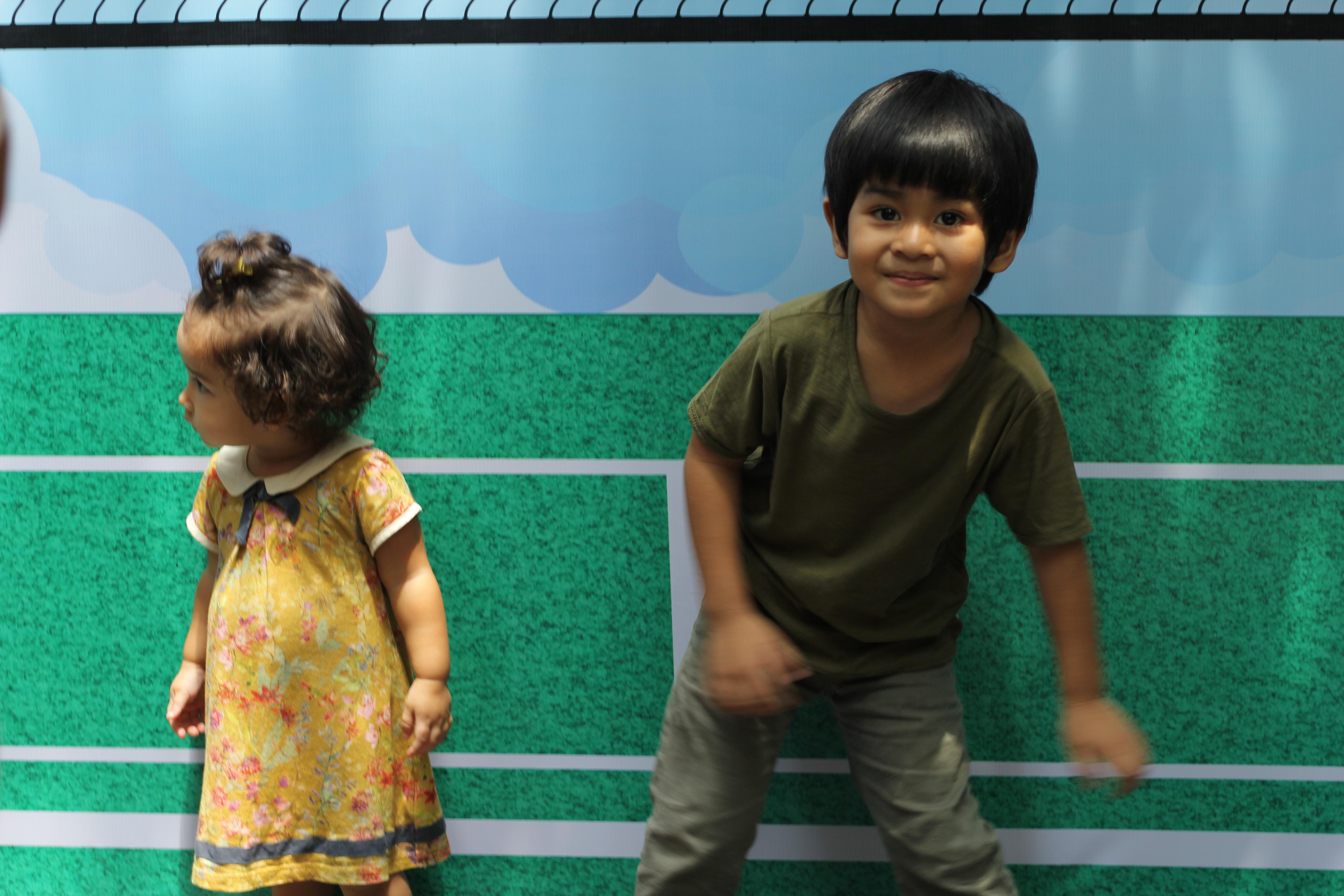 Nutrisi untuk Perkembangan tanggap yang lengkap untuk anak hebat