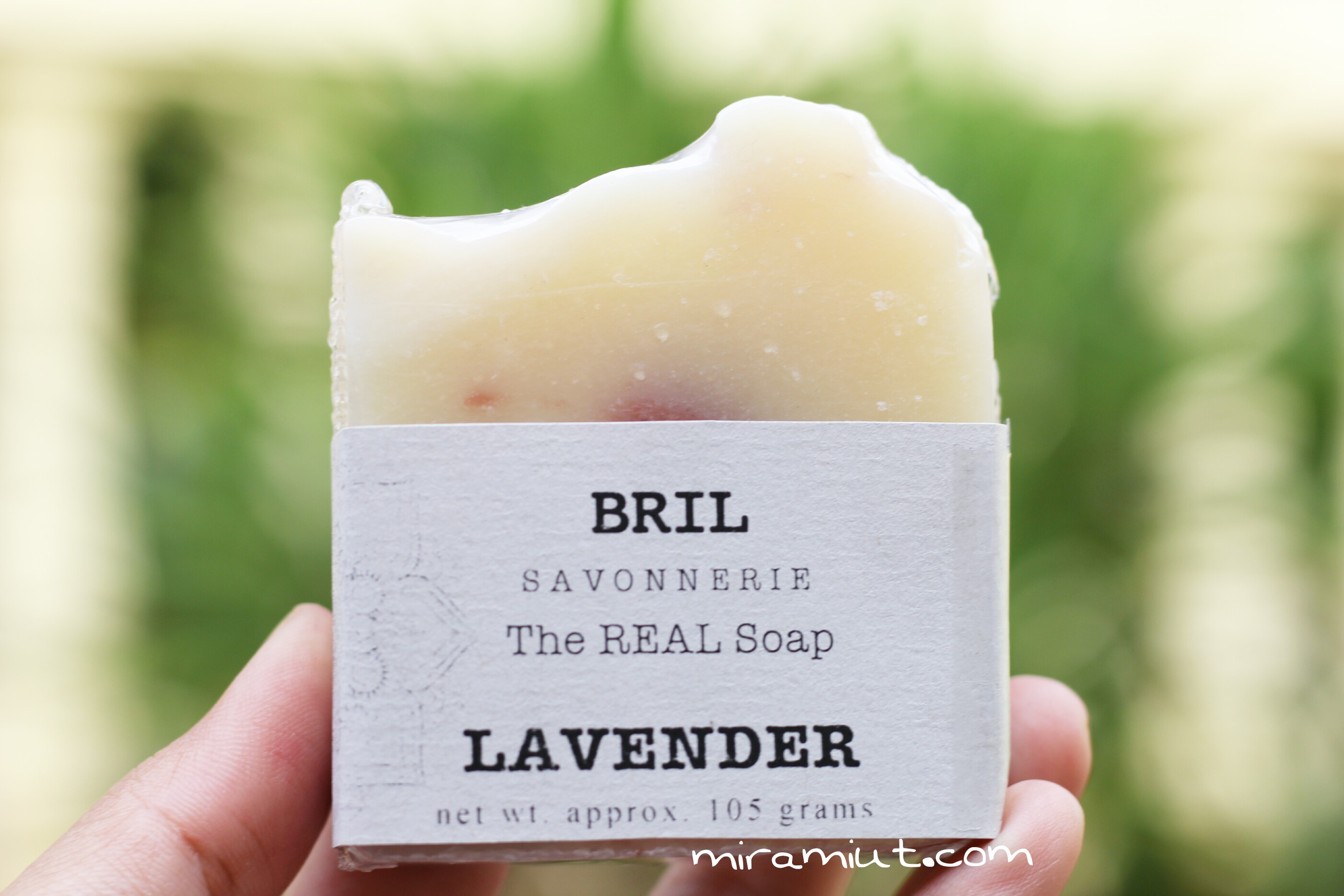 Sabun organik lavender bril savonnerie
