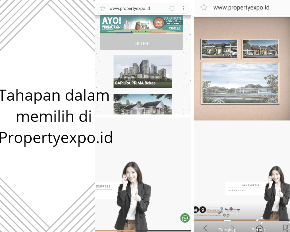 pameran properti online murah
