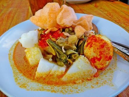 cara masak ketupat mini dan lontong sayur