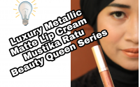 Luxury Metallic Matte Lip Cream dari Mustika Ratu
