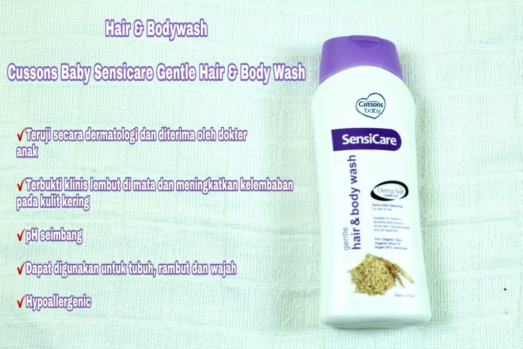 hair and body wash cusson sensicare