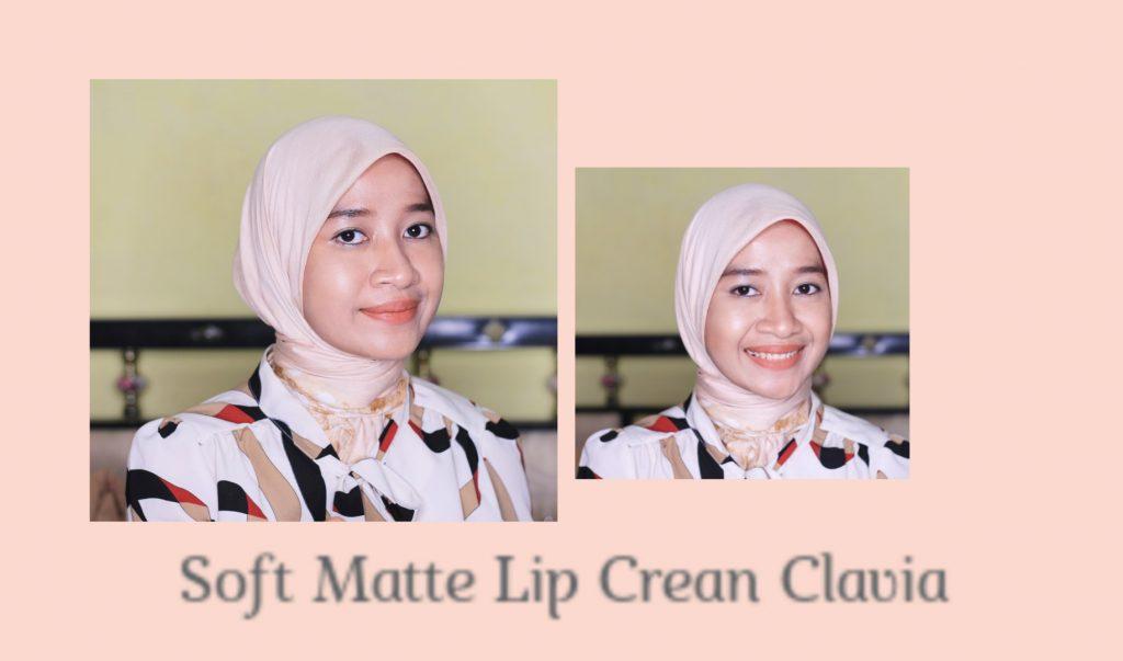 kekuatan soft matte lip cream clavia