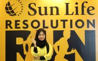 lari bareng sunlife resolution run 2019
