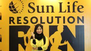 lari bareng sunlife resolution run 2019