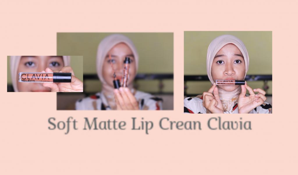 review soft matte lip cream clavia