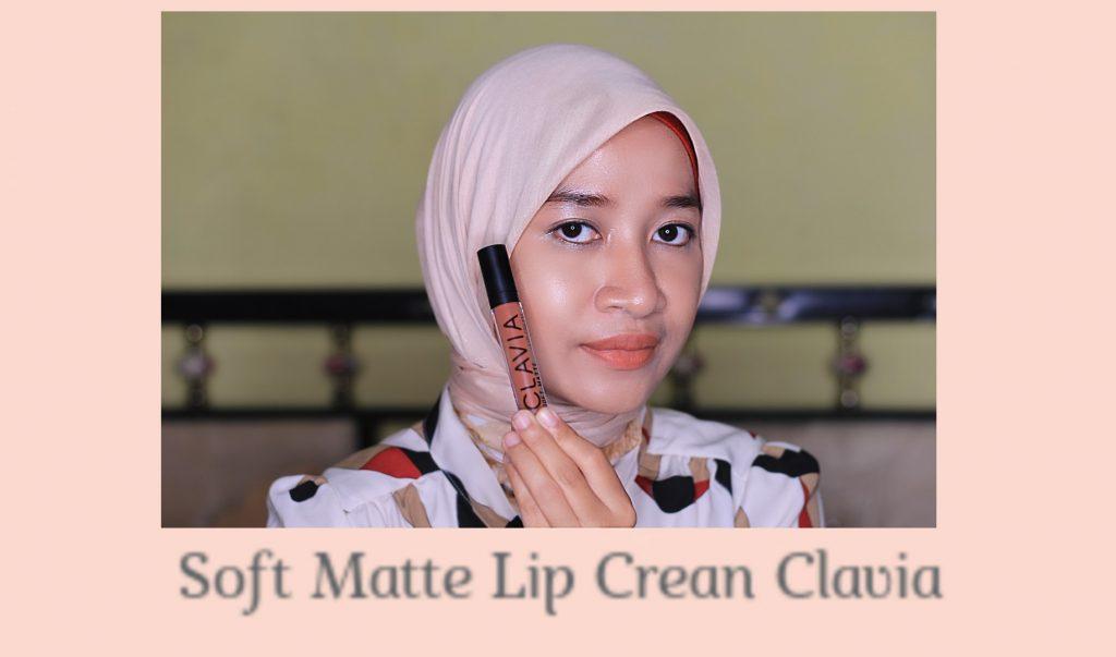tekstur soft matte lip cream clavia