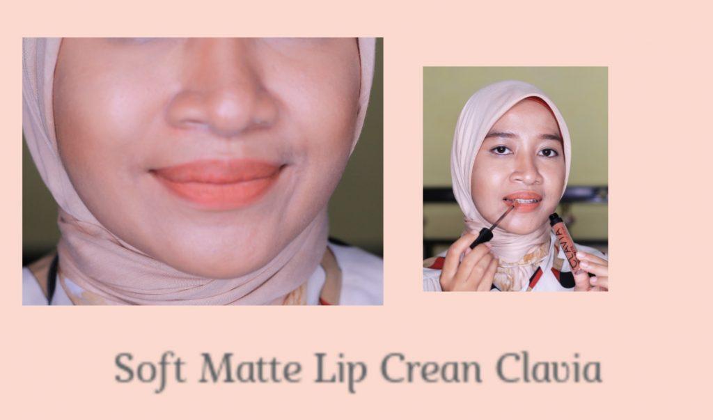 warna soft matte lip cream clavia