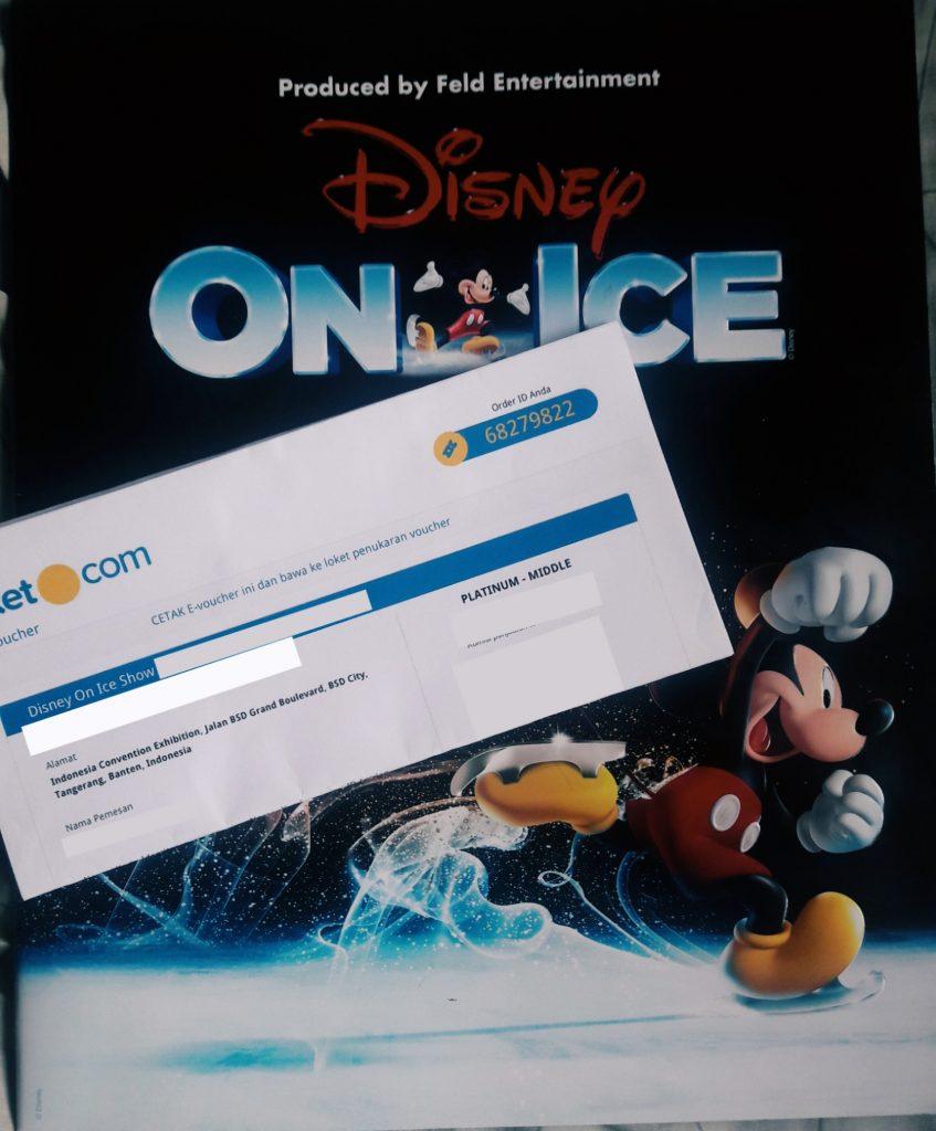 tiket disney on ice