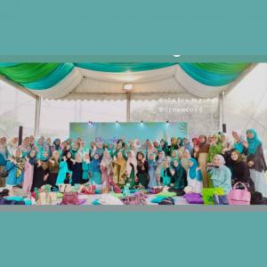 gathering perawatan rambut hijab rejoice
