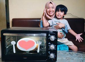 masak bersama anak oven listrik cosmos