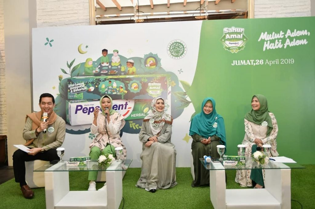talkshow hilangkan bau mulut pepsodent herbal