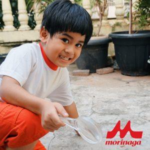 anak alergi berprestasi bersama morinaga soya