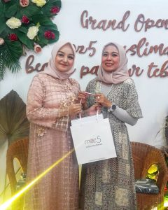 Saat Grand Opening Moz5 Muslimah Beauty Parlour Tebet