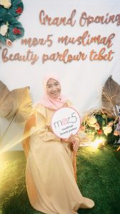 Grand Opening Moz5 Muslimah Beauty Parlour Tebet