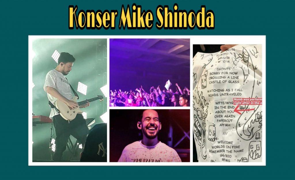 traveloka xperience tiket konser mike shinoda