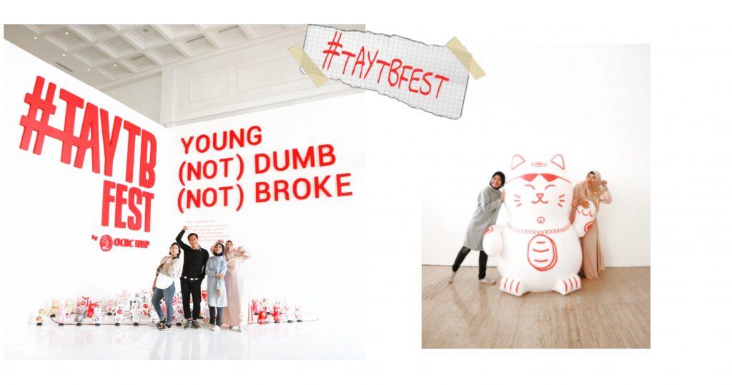 #taytbfest keuangan millennial