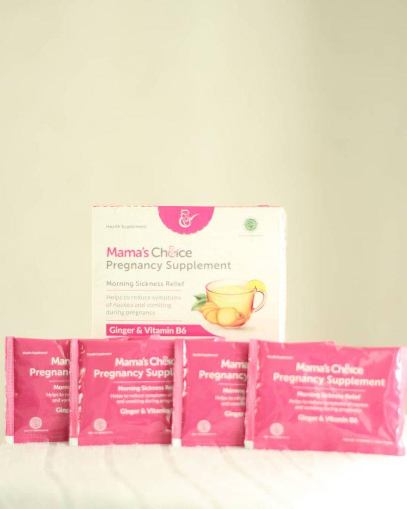 Mamih terbantu dengan produk Mamas Choice Pregnancy Suplement Mengatasi Mual Muntah saat Kehamilan